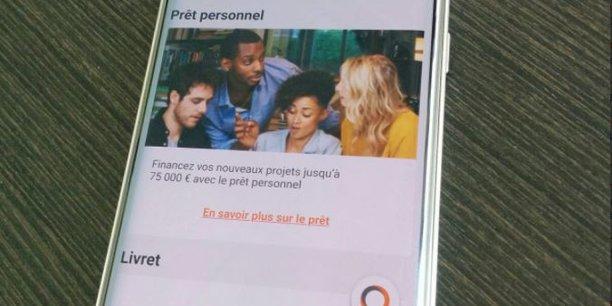 Orange Bank revendique des taux d'intérêt « attractifs et compétitifs sur tous les montants empruntés et durées de remboursement ».