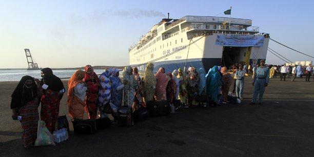 Au Soudan, les installations portuaires existantes sur l'île de Suakin sont principalement utilisées pour le transport de pèlerins à La Mecque.