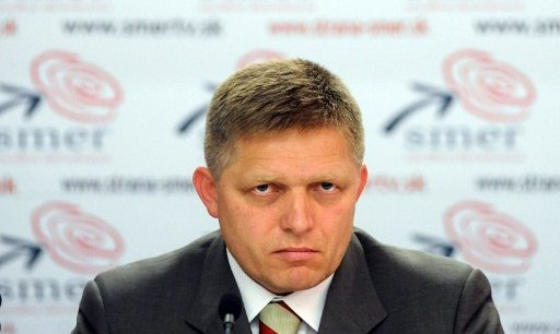 Robert Fico. Copyright AFP