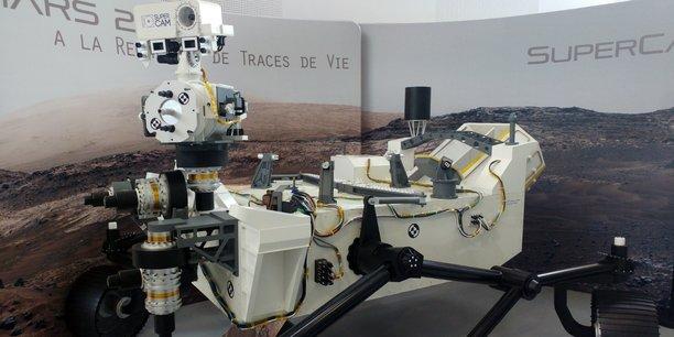 Mars 2020, le rover de la Nasa, pèse 1,15 tonne et mesure 2,1 mètres de haut pour 3 mètres de long sur 2,8 mètres de large !