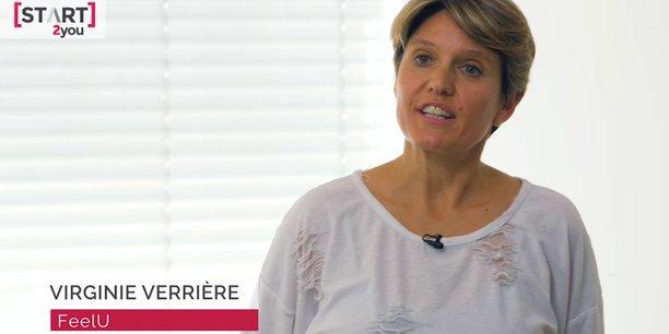 Virginie Verrière, l'une des cofondatrices de FeelU