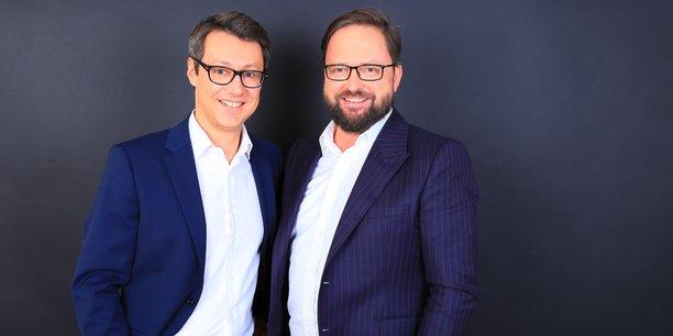 Alban Clot et Cyrille de Gastines, cofondateurs de Supervizor.