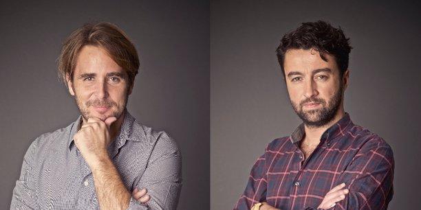 Pierre Leroy et Yann Person, fondateurs d'EP