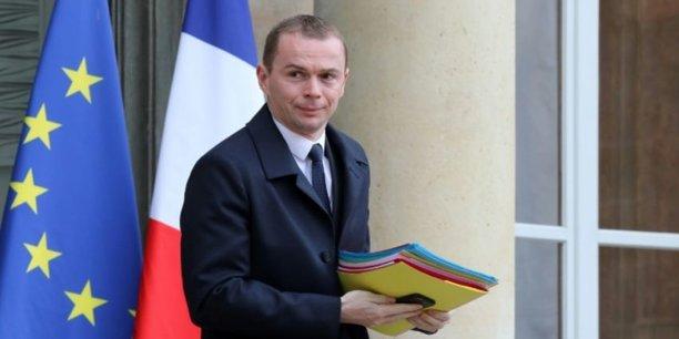 Olivier Dussop, secrétaire d'Etat à la fonction publique,