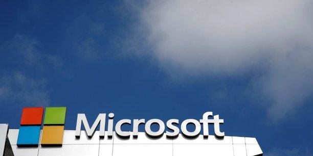 Microsoft a annoncé un chiffre d'affaires de 28,9 milliards de dollars (+12%) lors de ses derniers résultats trimestriels.