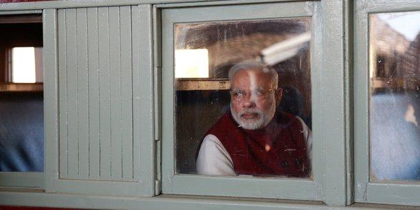 Le Premier ministre indien, Narendra Modi, lors d'une visite en Afrique du Sud, le 9 juillet 2016.
