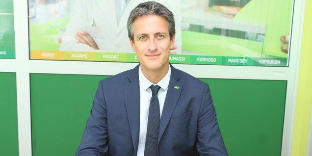 Gael Briot, directeur général d'Advans Côte d'Ivoire.