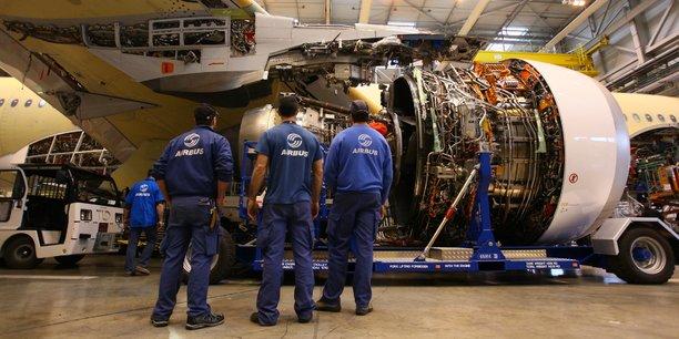 La zone d'emploi de Toulouse concentre 59 % des effectifs de la filière, dont les ateliers d'assemblage d'Airbus.