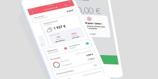 Les startups de la finance, comme Bankin' ou Linxo (notre photo), promettent aux particuliers de les aider à mieux gérer leur budget via une application mobile.