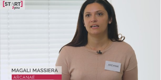 Magali Massiera, cofondatrice d'Arcanae