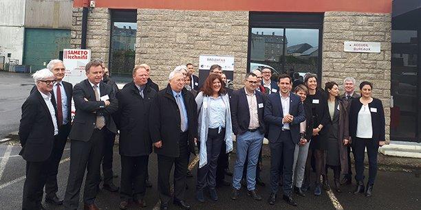 Destiné à agir comme un accélérateur, la Breizh Fab a été présentée le 27 mars dernier dans les locaux de l'entreprise Sameto Technifil.