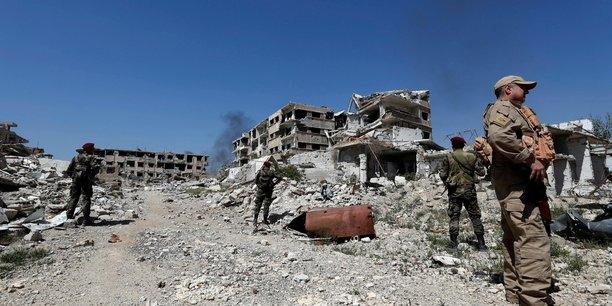 Repris par le régime syrien, la Ghouta orientale était l'ancien poumon vert de la capitale.
