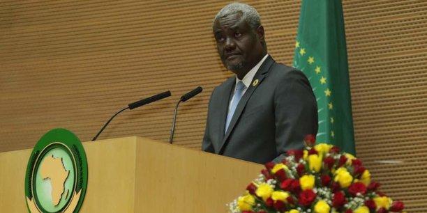 Moussa Faki-Mahamat, président de la Commission de l'Union africaine (UA).