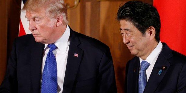 Trump et abe a la recherche d'un consensus sur la coree du nord[reuters.com]