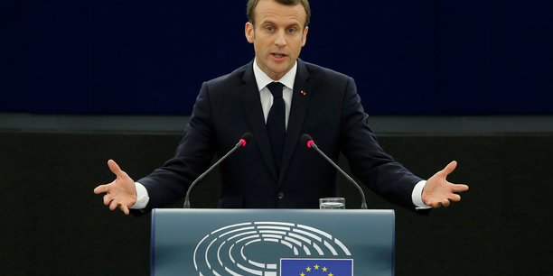 Macron appelle a strasbourg a refuser l'europe de l'habitude[reuters.com]