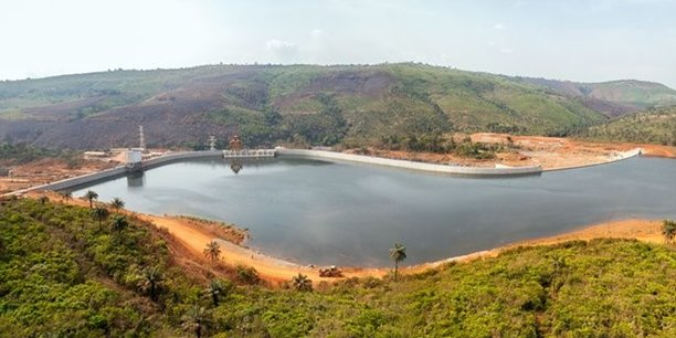 Le barrage Kaléta, inauguré en septembre 2015 sur le fleuve Konkouré, a une puissance de 240 mégawatts.