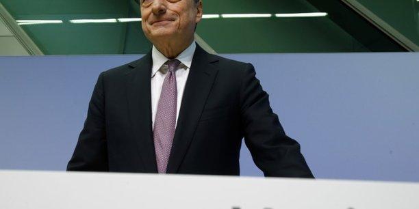 La croissance en zone euro est robuste, la bce doit rester patiente, selon draghi[reuters.com]
