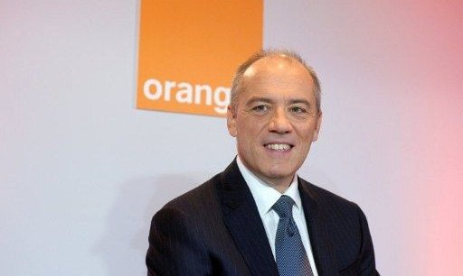 Stéphane Richard, le PDG de France Télécom Orange. Copyright AFP.