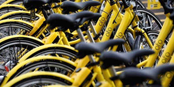 Pendant que nos startups européennes attendaient que les villes étrangères publient des appels d'offres pour pouvoir envisager un développement international, certaines startups chinoises telles qu'Ofo (photo) ou Mobike révolutionnaient en profondeur le marché en produisant et déployant à grande échelle des vélos à bas prix.
