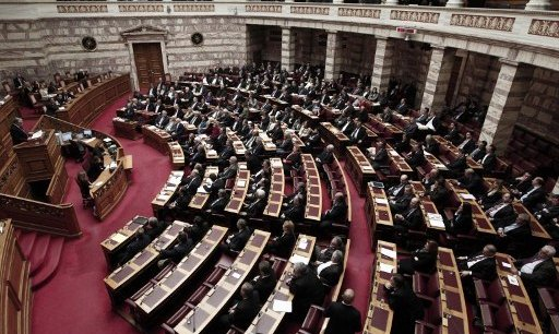 Le Parlement grec. Copyright AFP