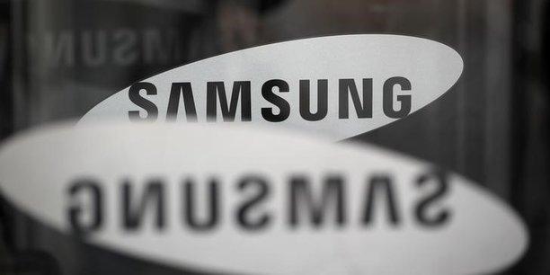 Samsung : une rentabilité en forte baisse
