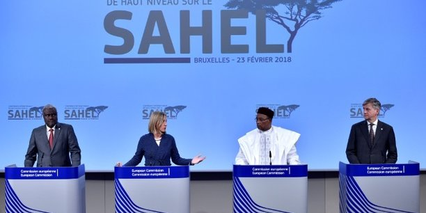 Le 23 févier à Bruxelles, la Commission européenne accueillait la Conférence internationale de haut niveau sur le Sahel, en présence des chefs d'État et de gouvernement de l'UE et des pays du G5 Sahel (Burkina Faso, Tchad, Mali, Mauritanie, Niger) ainsi que des représentants à haut niveau des autres pays participants.