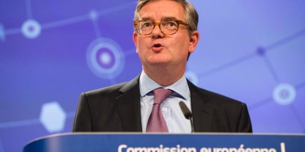 Le Commissaire européen Julian King, chargé de l'Union de la sécurité.