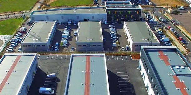 L'aménagement du site de 9 000 m2 a nécessité 10 M€ d'investissements