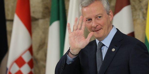 Le ministre de l'Economie et des Finances Bruno Le Maire a insisté sur le fait que les Européens devaient prendre une décision sur la taxation du numérique d'ici à la fin de l'année