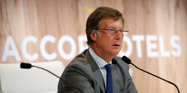 Sébastien Bazin, président directeur général de l'opérateur AccorHotels.