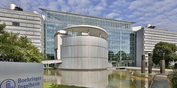 Le siège mondial de Boehringer Ingelheim a Ingelheim près de Francfort, en Allemagne.