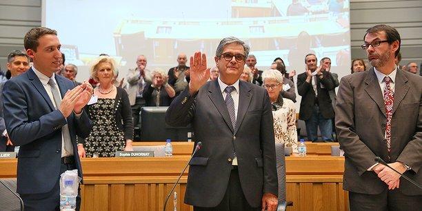 Georges Meric a été élu président du Conseil Départemental de la Haute-Garonne le 2 avril 2015