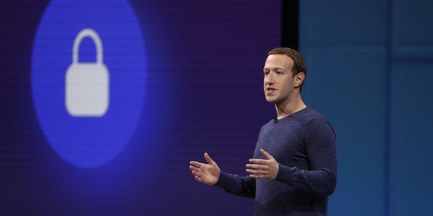 Mark Zuckerberg, Pdg et co-fondateur de Facebook, le 1er mai 2018 lors de la conférence annuelle pour les développeurs.