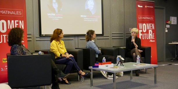 Première Matinale Women For Future le 25 avril à Orléans avec Nicole Etchegoïnberry, présidente du directoire Caisse d'Epargne Loire-Centre, Juliette Ponchon, cofondatrice de LoopMe et Géraldine Portal, fondatrice de Menuz.