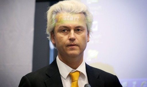 Geert Wilders, leader du PVV. Copyright AFP