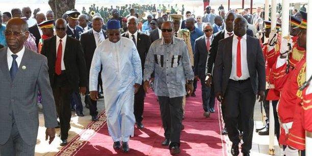 Alpha Condé invité à l'investiture du nouveau président — SIERRA LEONE