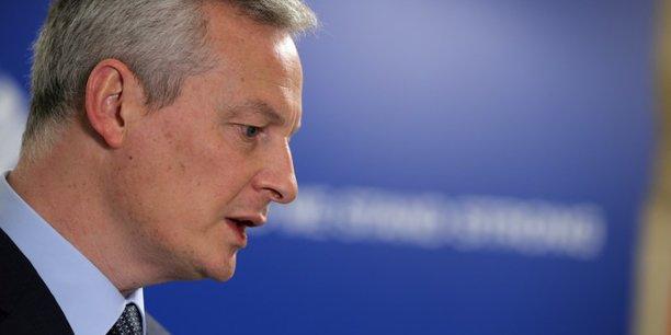Pour Bruno Le Maire, les Européens n'ont pas à payer de sanctions à la suite du retrait américain de l'accord sur le nucléaire iranien.