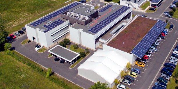 Le bâtiment Meropa, à la Cité photonique de Pessac, qui accueille Amplitude Systèmes.