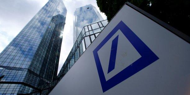 S&P; abaisse la note, les ennuis s'accumulent — Deutsche Bank