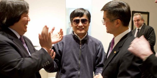 Le dissident aveugle chinois Chen Guangcheng - Copyright AFP