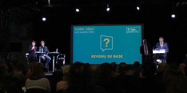 Plus de 300 personnes ont répondu présent au débat public sur le revenu de base organisé par le Conseil Départemental.