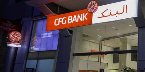Les encours de la CFG Bank sont estimés aujourd'hui à 2,1 milliards de dirhams.