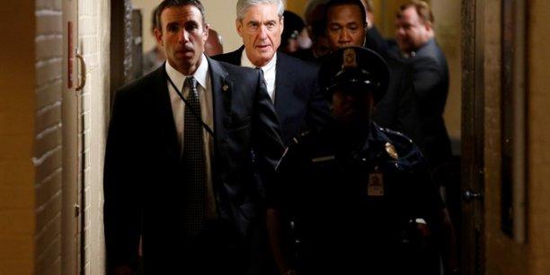 Mueller considere que trump ne peut pas etre inculpe[reuters.com]