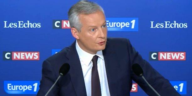 Si le nouveau gouvernement prenait le risque de ne pas respecter ces engagement sur la dette, sur le déficit mais aussi sur l'assainissement des banques, c'est toute la stabilité financière de la zone euro qui serait menacée, a déclaré Bruno Le Maire.