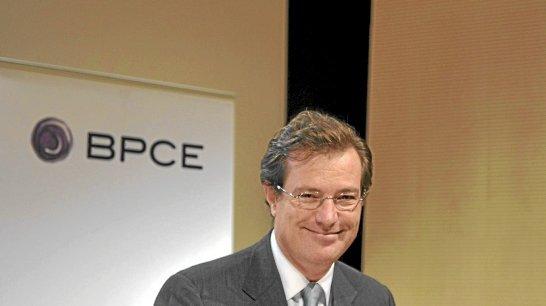 Laurent Mignon, directeur général de Natixis. Copyright AFP