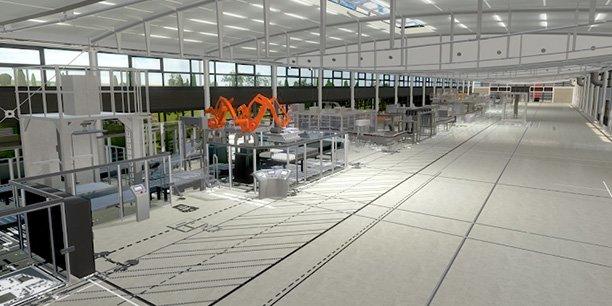 Iteca a notamment développé pour la maison de cognac Hennessy un jumeau numérique qui permet entre autres à l'industriel de simuler virtuellement le moindre changement dans ses flux et paramètres de production, à l'échelle de l'usine