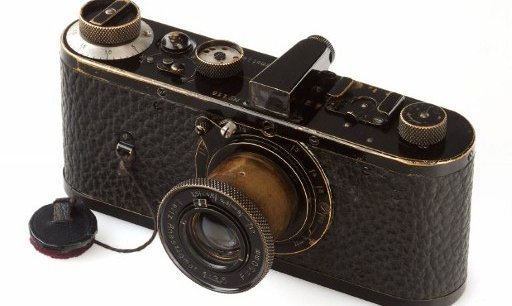 L'appareil Leica de 1923. Copyright AFP PHOTO / WESTLICHT GALLERY