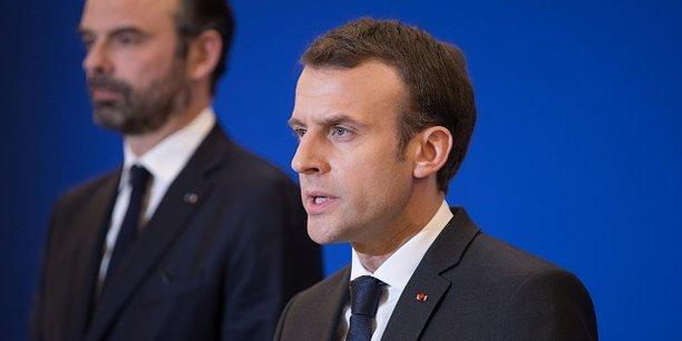 Alors que la séquence médiatique présidentielle du mois dernier semblait avoir quelque peu porté ses fruits dans l'opinion (+3 points de bonnes opinions), la cote de popularité d'Emmanuel Macron diminue ce mois-ci (40%; -3) et retrouve son étiage bas du mois de mars explique BVA.