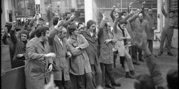 Les assemblées générales, qui ont décidé de l'occupation du site pour défendre l'emploi et les salaires, ont rythmé la vie des Lip.