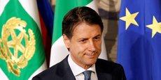 Giuseppe Conte est arrivé à 17:00 au Palais du Quirinal pour présenter au président la liste des membres de son gouvernement.